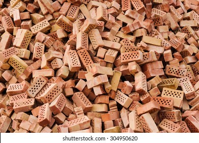 pile of bricks background