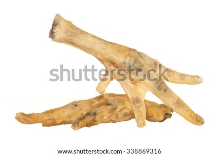 Pile Chicken Feet Dog Food Cutout Stock Photo Edit Now 338869316