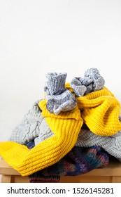 Sweaters Donate Images, Stock Photos \u0026 Vectors