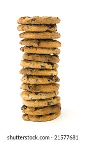 Pile from cookies