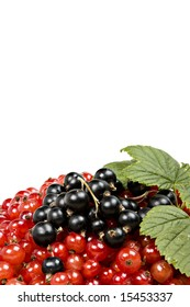 pile of delicious berries isolated