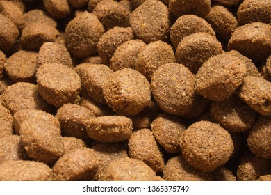 A pile of dog biscuits.