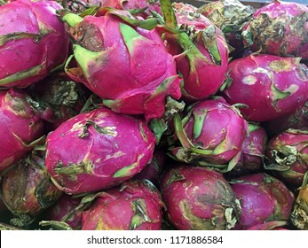 Pile of Dragon Fruit, Chinatown, New York City