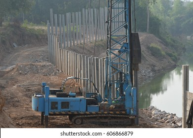Pile-driving Images, Stock Photos & Vectors | Shutterstock