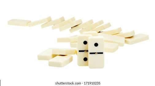 Fallen Domino Images Stock Photos Vectors Shutterstock