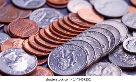 Nickel Coin Images, Stock Photos & Vectors   Shutterstock