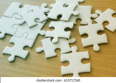 pile of jigsaw puzzle