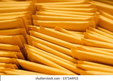 Pile of Mailing Envelopes-Close Up