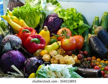 pile of mix vegetable and fruit still life