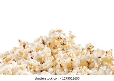 pile of popcorn in shape of a mountain