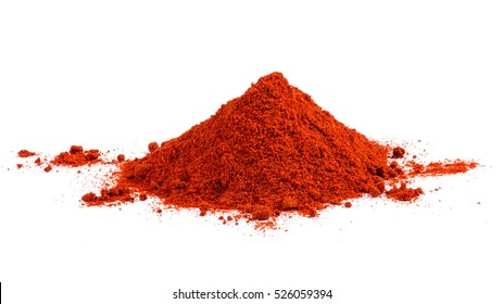 Pile of Red Paprika
