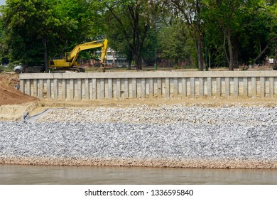 Sheet Pile Wall Images Stock Photos Amp Vectors Shutterstock