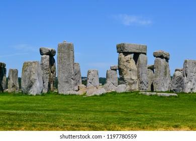 Pile of rocks at Stonehenge, Salisbury, England
