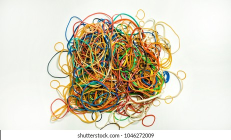 Pile of rubberbands