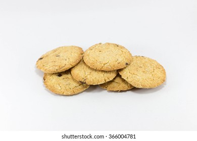 Pile of six cookies