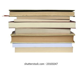 Pile or stack of books