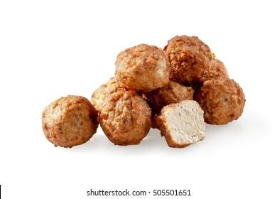 Pile of swedish meatballs