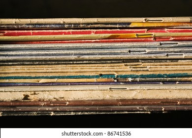 Pile of thin books and  journals