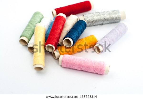 pile of threads