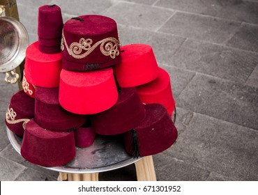 Turkish Fez Stock Photos b673eb6c89ec