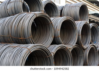 Pile of wire rod for industrial usage