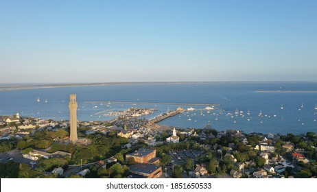 Pilgrim Monument at Cape Cod  Provincetown, Massachusetts