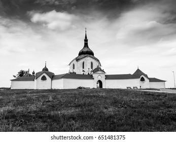 Pilgrimage church of Saint John of Nepomuk, Zelena Hora, Zdar nad Sazavou, Czech Republic