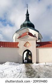 pilgrimage church zelena hora - monument unesco