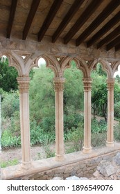 Pillar arches in resident at Majorca, Spain. Former owners : the austrian archduke ludwig salvator of habsburg-lothringen,sisi