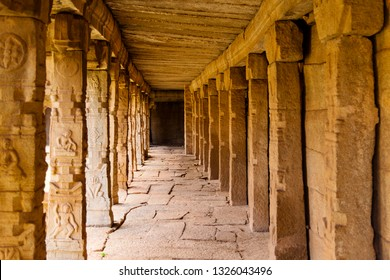 pillar curving in south indian temple, India