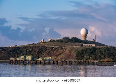 Pillar Point Harbor in Half Moon Bay, California