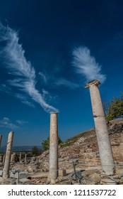 Pillars in Ephesus, Selçuk, Turkey