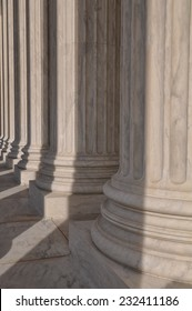 Pillars of the Supreme Court of the United States of America