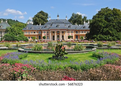 Pillnitz Castle in Saxony near Dresden, Germany (Europe)