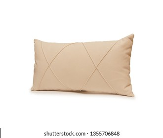 Pillow isolated on the white background