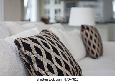 Pillow - modern living room with pillow