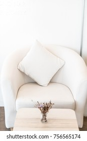 pillow on sofa decoration in a room
