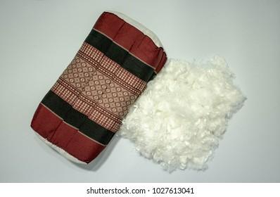 Pillow synthetic Microgel feel like down. It is alternative down.