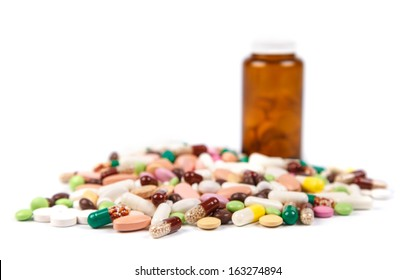 pills background
