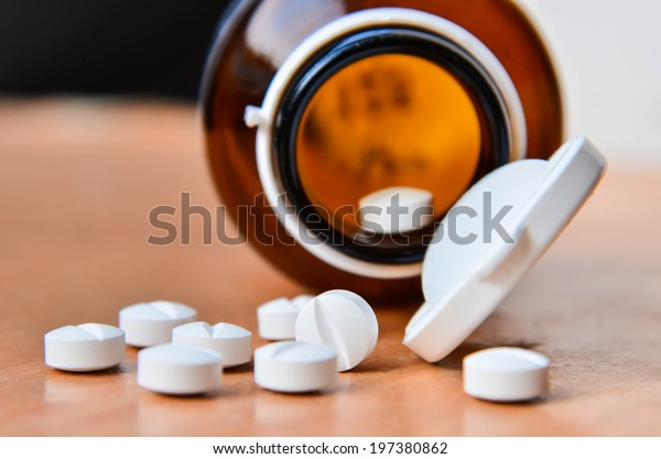 Pills and bottle.