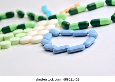 Pills and capsules of medicine
