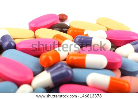 Pills and tablets.
