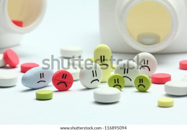 Pills - Unhealthy family / community