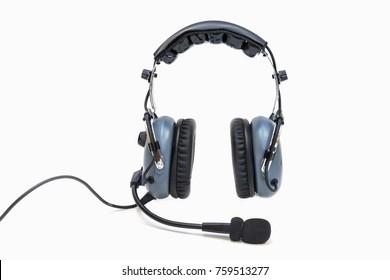Pilot headphones. Headphones for pilots. Aviation headphones for pilots.
