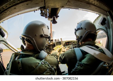 Pilot, soldier, two .