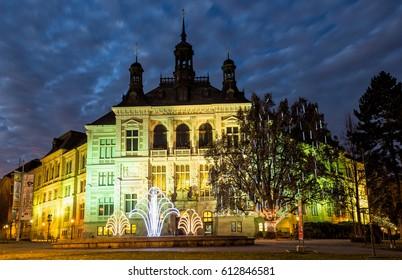 PILSEN CZECH REPUBLIC - December 10,2016.Museum in Pilsen.