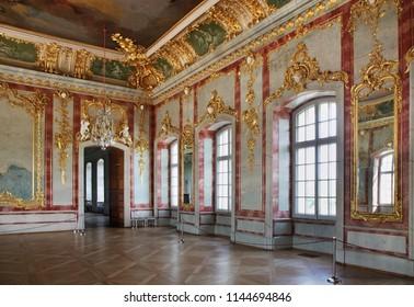 PILSRUNDALE. LATVIA. 21 JUNE 2012 : Rundale Palace near Pilsrundale. Latvia