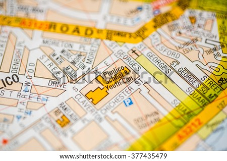 Pimlico London Map.Pimlico School Youth Center London Uk Stock Photo Edit Now