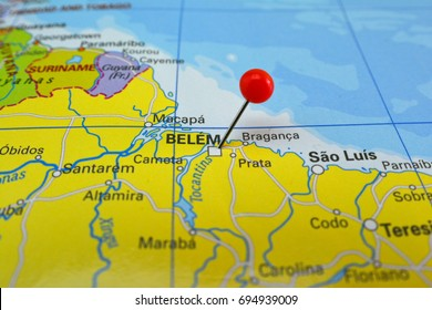 Pin in Belem of Para, Brazil