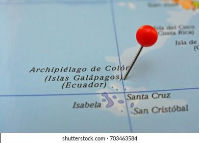 Pin in Islas Galápagos - Archipielago de Colón - Chile